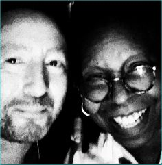 Jules and Whoopi in Vegas - November 13, 2014. ♥ I love Whoopi! She's been my fav comedian since the 1980's.