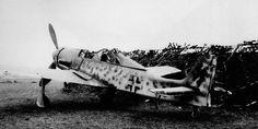 Focke Wulf Fw 190D9 Werk nr 631444 abandoned Eschwege near Kassel 1945