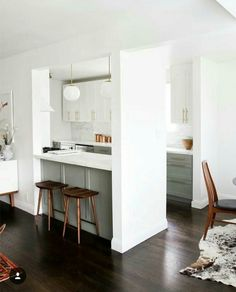 Half Wall Kitchen Designs 57 | Pinterest | Half Wall Kitchen, Half Walls  And Kitchen Design
