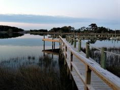 Public Dock in Beaufort, North Carolina. (Photo by Betsy Cartier) Emerald Gem, Travel Magazines, Under Construction, Budget Travel, Small Towns, Cartier, North Carolina, Things To Do, Coast