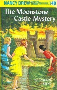 Nancy Drew The Moonstone Castle Mystery by Carolyn Keene, Hardback Book 2000