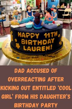 """Just ask this guy, who decided to share his story to Reddit's """"Am I The Asshole?"""" page. You see, his daughter had a sleepover party for her birthday, and it didn't go so well. It turns out that one of her guests was quite the entitled little brat, and this dad showed her the door mid-party because of her nasty behavior. Happy Birthday Dad, Daughter Birthday, Birthday Parties, Birthday Cake, Sleepover Party, Girls Out, Cool Girl, Kicks, Dads"""
