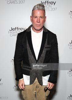 Nick Wooster attends Jeffrey Fashion Cares 2017 at Intrepid Sea-Air-Space Museum on April 3, 2017 in New York City.