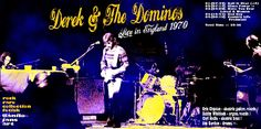 DEREK & THE DOMINOS - Live In England August 1970 ARTISTIC COVER Of DANILO JANS ART Dal sito ROCK RARE COLLECTION FETISH https://rockrarecollectionfetish.blogspot.it/ e DANILO JANS ART http://danilojansart.blogspot.it/ Works of Danilo JANS executed in mixed media . Visionary artist and surrealist Italian , creates his works thanks to a connection with parallel universes. Danilo Jans was born in 1957 and lives in Pont Saint Martin in the Aosta Valley ( Italy ) contatti:jjonaband@katamail.com