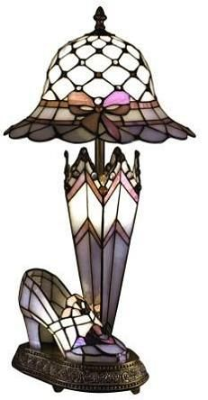 Tiffany lamps are a must !!