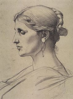 Old Master Drawing Bargue-Gérôme Drawing Course II - praxis L'art Du Portrait, Portrait Sketches, Art Drawings Sketches, Portraits, Life Drawing, Figure Drawing, Painting & Drawing, William Adolphe Bouguereau, Charles Bargue