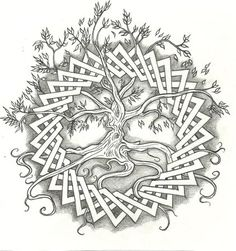 celtic_tree_of_life_by_vizualassassin.jpg (422×450)
