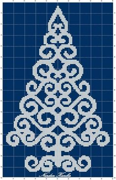 46 Trendy embroidery christmas tree punto croce You are in the right place about wedding details fun Xmas Cross Stitch, Cross Stitch Charts, Cross Stitch Designs, Cross Stitching, Cross Stitch Embroidery, Cross Stitch Patterns, Christmas Perler Beads, Christmas Cross, Fuse Bead Patterns