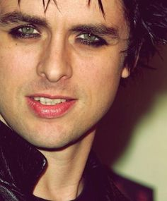 His green eyes....beautiful green eyes...