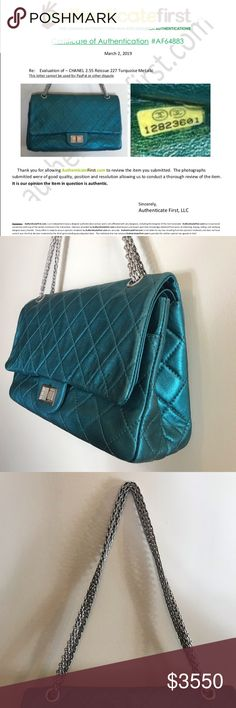 825fd2288051 2/2 CHANEL 2.55 Reissue with COA, Tag, Sticker Authentic. Personal bag