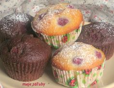 moje záľuby...: muffiny Scones, Cupcakes, Breakfast, Food, Morning Coffee, Cupcake Cakes, Essen, Meals, Yemek