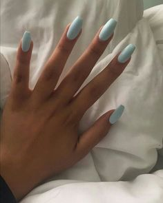 The Most Beautiful Acrylic Nails for Manicure for Summer 2019 - Page 6 of 20 Acrylic Nails Coffin Short, Blue Acrylic Nails, Simple Acrylic Nails, Summer Acrylic Nails, Pastel Nails, Acrylic Nail Designs, Coffin Nails, Cute Nails, Pretty Nails