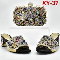 Buy Gold Color Shoes and Bag Set African Sets at Wish - Shopping Made Fun Wish Shopping, Sunglasses Case, Gender, African, Pumps, Gold, Stuff To Buy, Bags, Shoes