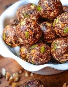 Almond Chocolate Chip Energy Balls