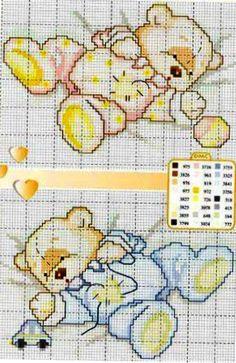 Cross Stitch For Kids, Cross Stitch Boards, Cross Stitch Baby, Cross Stitch Animals, Counted Cross Stitch Patterns, Cross Stitch Embroidery, Embroidery Patterns, Kids Patterns, Baby Kind