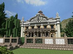 Villa Borelo Minecraft World Save | Come and play with us @ mc.xtcr.net