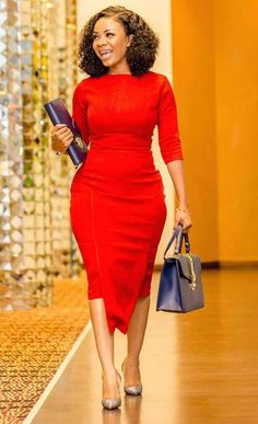 How to Look Classy Like Serwaa Amihere - 30+ Outfits in 2021 Classy Work Outfits, Office Outfits Women, 30 Outfits, Classy Dress, Ladies Outfits, Short African Dresses, Latest African Fashion Dresses, African Print Dresses, African Print Fashion