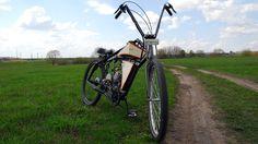 Board tracker (велосипед с мотором) часть 4