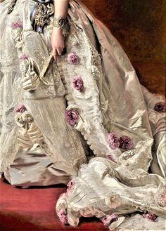 Queen Isabella II of Spain by Franz Xavier Winterhalter