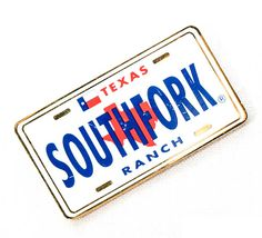 Online Gift Store, Online Gifts, Southfork Ranch, Texas, Plate, Star, Collection, Plates, All Star