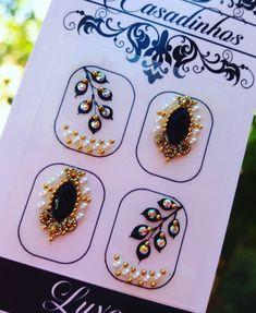 Crystal Nails, Crystal Rhinestone, Gorgeous Nails, Love Nails, Flamingo Nails, Nail Jewels, Gem Nails, Nail Art Designs, Make Up