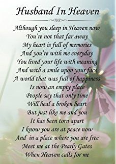 Missing husband in Heaven Quotes | DEAR HUSBAND IN HEAVEN ...