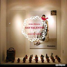 Vinilo San Valentín 014: Vinilos decorativos San Valentín Vinilos adhesivos vidrieras escaparates show window Window Display Wall Art Stickers wall stickers