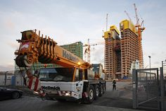 Neubau der Europäischen Zentralbank in Frankfurt