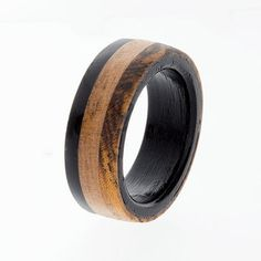 Beautiful Unique Wooden Wedding Ring