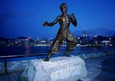 """Bruce Lee at """"Avenue of Stars"""" in Hong Kong Hong Kong Tourism Board, Star Show, Tourist Information, Top Travel Destinations, World Cities, Bruce Lee, Trip Planning, Places To See, Cruises"""