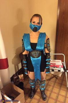 Subzero Costume - Halloween Costume Contest via @costume_works