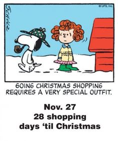 Posted to FB Nov. 26 - This is a classic countdown panel from 2004 (can't pass up pinning Snoopy dressed as Sherlock Holmes) Peanuts Christmas, Charlie Brown Christmas, Charlie Brown And Snoopy, Christmas Fun, Snoopy Cartoon, Peanuts Cartoon, Peanuts Snoopy, Snoopy Love, Snoopy And Woodstock