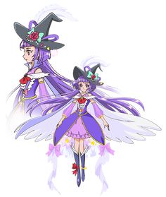 Cure magical (over the rainbow form)