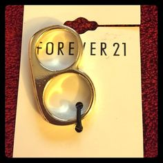 Bad Girl ring. Two finger ring. Forever 21 Jewelry Rings