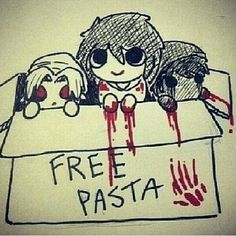 Aww look at little pastas!!
