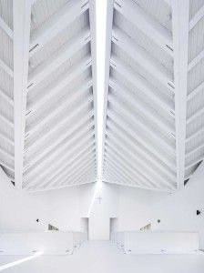 Nanjing Wanjing Garden Chapel by AZL Architects   Yellowtrace