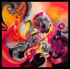 Amytea's DeviantArt gallery - Malen Creative Art, Creative Design, Peace Sign Hand, Colors And Emotions, Cyberpunk Art, Surreal Art, Fractal Art, Pop, Art Drawings