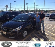https://flic.kr/p/MrTmF2 | #HappyBirthday to Denise from Vonnie Mayberry at Fenton Hyundai! | deliverymaxx.com/DealerReviews.aspx?DealerCode=H248