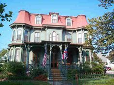 The Queen Victoria front - Victorian Cape May New Jersey