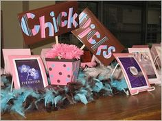 Chick Picks, Guy Greats, plus other cute signs at jilliciousreading.com
