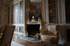 Versailles. Library of Louis XVI.