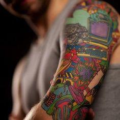 best-half-sleeve-tattoos