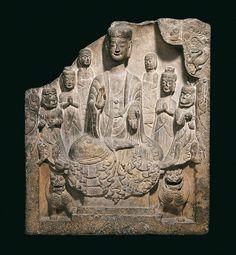 China, Eastern Wei Dynasty, dated 536 Donated by Eduard von der Heydt, RCH 111 Provenance: C.T. Loo, Paris (1920-1924); Eduard von der Heydt Collection (from 1924)