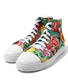 Sunrize Blossom Sneaker JOYRICH FEMME of (Joey Rich Fam) (sneakers) | Green