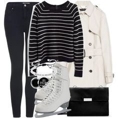 Allison Inspired Ice Skating Outfit by veterization on Polyvore featuring Madewell, Zara, Topshop and Forever 21