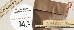 Wundertüte aus Mängelexemplaren, 50% REDUZIERT! von EINE DER GUTEN - Bücher für ein tolleres Leben auf DaWanda.com
