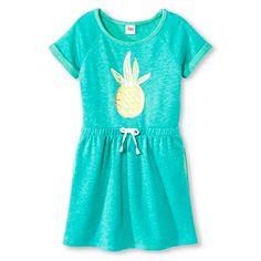 Girls' Athleisure Dress Circo™ - Green