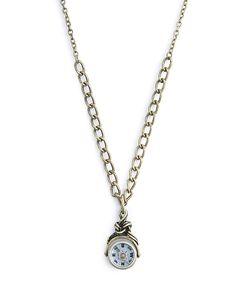 Tiny Compass Pendant Necklace