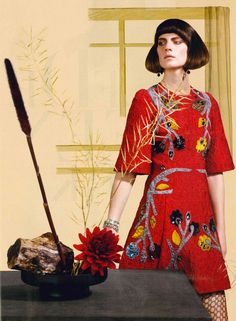 Dolce&Gabbana Fall Winter 2014-2015, Harpers Bazaar NDL November 2014
