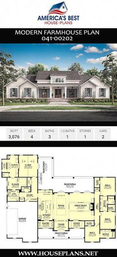 house plans open floor & house plans - house plans one story - house plans farmhouse - house plans with wrap around porch - house plans with in law suite - house plans 4 bedroom - house plans with basement - house plans open floor Floor Plan 4 Bedroom, Basement Floor Plans, 4 Bedroom House Plans, Ranch House Plans, Ranch Floor Plans, House Plan With Basement, Ranch Farm House, Basement Ideas, Dreams